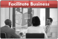 facilitate business
